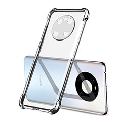 Coque Ultra Fine TPU Souple Housse Etui Transparente H01 pour Huawei Mate 40 Argent
