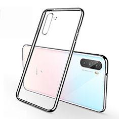 Coque Ultra Fine TPU Souple Housse Etui Transparente H01 pour Huawei Mate 40 Lite 5G Argent