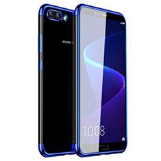 Coque Ultra Fine TPU Souple Housse Etui Transparente H01 pour Huawei Nova 2S Bleu