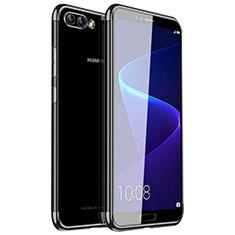 Coque Ultra Fine TPU Souple Housse Etui Transparente H01 pour Huawei Nova 2S Noir