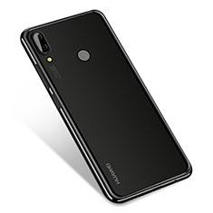 Coque Ultra Fine TPU Souple Housse Etui Transparente H01 pour Huawei Nova 3 Noir