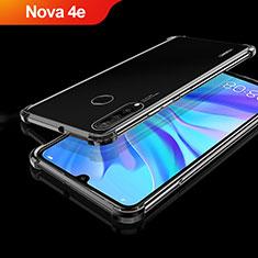 Coque Ultra Fine TPU Souple Housse Etui Transparente H01 pour Huawei Nova 4e Noir