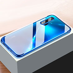 Coque Ultra Fine TPU Souple Housse Etui Transparente H01 pour Huawei Nova 6 5G Bleu