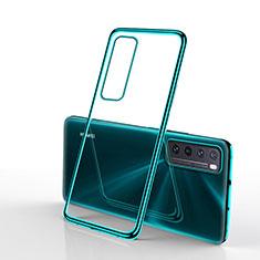 Coque Ultra Fine TPU Souple Housse Etui Transparente H01 pour Huawei Nova 7 5G Vert