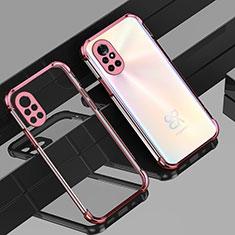 Coque Ultra Fine TPU Souple Housse Etui Transparente H01 pour Huawei Nova 8 5G Or Rose