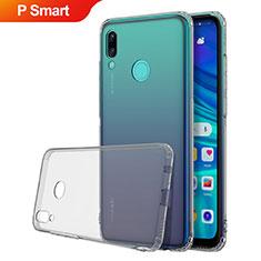 Coque Ultra Fine TPU Souple Housse Etui Transparente H01 pour Huawei P Smart (2019) Gris