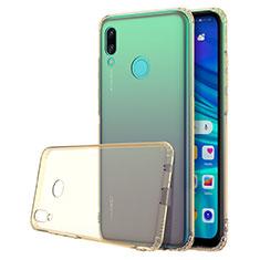 Coque Ultra Fine TPU Souple Housse Etui Transparente H01 pour Huawei P Smart (2019) Or