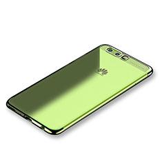 Coque Ultra Fine TPU Souple Housse Etui Transparente H01 pour Huawei P10 Vert
