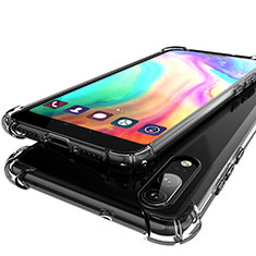 Coque Ultra Fine TPU Souple Housse Etui Transparente H01 pour Huawei P20 Gris