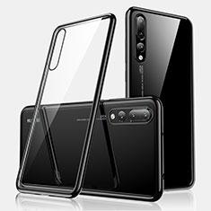 Coque Ultra Fine TPU Souple Housse Etui Transparente H01 pour Huawei P20 Pro Noir