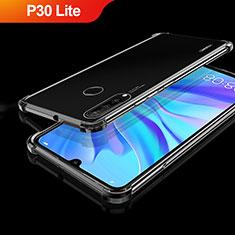 Coque Ultra Fine TPU Souple Housse Etui Transparente H01 pour Huawei P30 Lite Noir