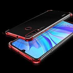 Coque Ultra Fine TPU Souple Housse Etui Transparente H01 pour Huawei P30 Lite Rouge