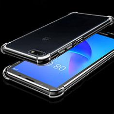 Coque Ultra Fine TPU Souple Housse Etui Transparente H01 pour Huawei Y5 Prime (2018) Clair