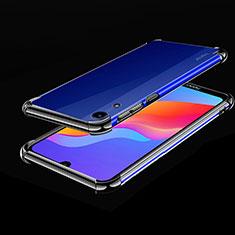Coque Ultra Fine TPU Souple Housse Etui Transparente H01 pour Huawei Y6 (2019) Noir