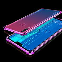 Coque Ultra Fine TPU Souple Housse Etui Transparente H01 pour Huawei Y9 (2019) Violet
