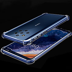 Coque Ultra Fine TPU Souple Housse Etui Transparente H01 pour Nokia 9 PureView Clair