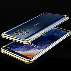 Coque Ultra Fine TPU Souple Housse Etui Transparente H01 pour Nokia 9 PureView Jaune