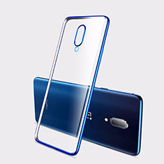 Coque Ultra Fine TPU Souple Housse Etui Transparente H01 pour OnePlus 7 Bleu