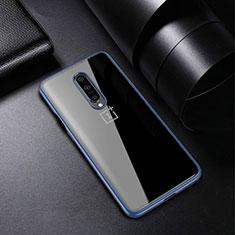 Coque Ultra Fine TPU Souple Housse Etui Transparente H01 pour OnePlus 7 Pro Bleu