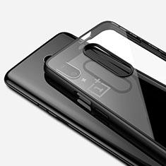 Coque Ultra Fine TPU Souple Housse Etui Transparente H01 pour OnePlus 7 Pro Noir