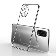 Coque Ultra Fine TPU Souple Housse Etui Transparente H01 pour Oppo K7x 5G Noir