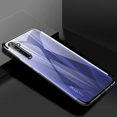Coque Ultra Fine TPU Souple Housse Etui Transparente H01 pour Realme 6s Noir