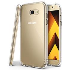 Coque Ultra Fine TPU Souple Housse Etui Transparente H01 pour Samsung Galaxy A7 (2017) A720F Clair