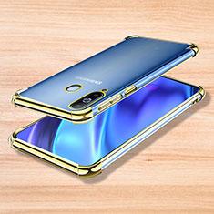 Coque Ultra Fine TPU Souple Housse Etui Transparente H01 pour Samsung Galaxy A8s SM-G8870 Or