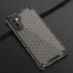 Coque Ultra Fine TPU Souple Housse Etui Transparente H01 pour Samsung Galaxy Note 10 Noir