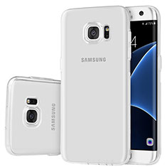 Coque Ultra Fine TPU Souple Housse Etui Transparente H01 pour Samsung Galaxy S7 Edge G935F Clair