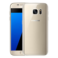 Coque Ultra Fine TPU Souple Housse Etui Transparente H01 pour Samsung Galaxy S7 G930F G930FD Clair