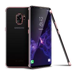 Coque Ultra Fine TPU Souple Housse Etui Transparente H01 pour Samsung Galaxy S9 Rose