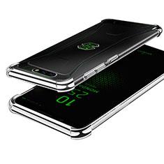 Coque Ultra Fine TPU Souple Housse Etui Transparente H01 pour Xiaomi Black Shark Argent