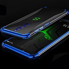 Coque Ultra Fine TPU Souple Housse Etui Transparente H01 pour Xiaomi Black Shark Helo Bleu
