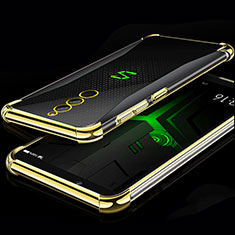 Coque Ultra Fine TPU Souple Housse Etui Transparente H01 pour Xiaomi Black Shark Helo Or
