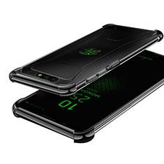 Coque Ultra Fine TPU Souple Housse Etui Transparente H01 pour Xiaomi Black Shark Noir
