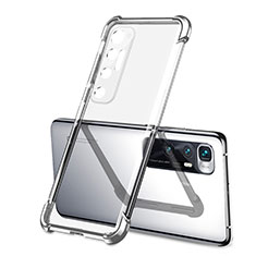 Coque Ultra Fine TPU Souple Housse Etui Transparente H01 pour Xiaomi Mi 10 Ultra Argent