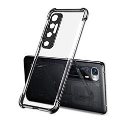 Coque Ultra Fine TPU Souple Housse Etui Transparente H01 pour Xiaomi Mi 10 Ultra Noir