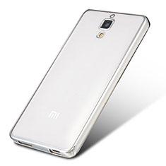 Coque Ultra Fine TPU Souple Housse Etui Transparente H01 pour Xiaomi Mi 4 Argent