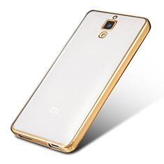 Coque Ultra Fine TPU Souple Housse Etui Transparente H01 pour Xiaomi Mi 4 Or