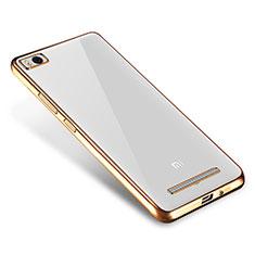 Coque Ultra Fine TPU Souple Housse Etui Transparente H01 pour Xiaomi Mi 4i Or