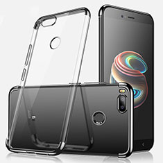 Coque Ultra Fine TPU Souple Housse Etui Transparente H01 pour Xiaomi Mi 5X Noir