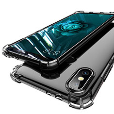 Coque Ultra Fine TPU Souple Housse Etui Transparente H01 pour Xiaomi Mi 6X Gris