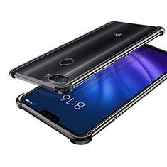 Coque Ultra Fine TPU Souple Housse Etui Transparente H01 pour Xiaomi Mi 8 Lite Noir