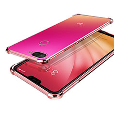 Coque Ultra Fine TPU Souple Housse Etui Transparente H01 pour Xiaomi Mi 8 Lite Or Rose