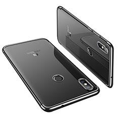 Coque Ultra Fine TPU Souple Housse Etui Transparente H01 pour Xiaomi Mi 8 Noir