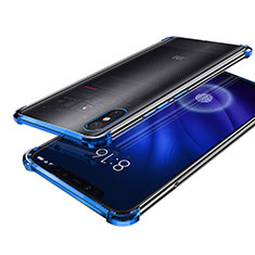 Coque Ultra Fine TPU Souple Housse Etui Transparente H01 pour Xiaomi Mi 8 Screen Fingerprint Edition Bleu