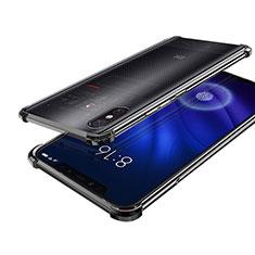 Coque Ultra Fine TPU Souple Housse Etui Transparente H01 pour Xiaomi Mi 8 Screen Fingerprint Edition Noir