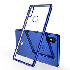 Coque Ultra Fine TPU Souple Housse Etui Transparente H01 pour Xiaomi Mi 8 SE Bleu