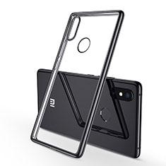 Coque Ultra Fine TPU Souple Housse Etui Transparente H01 pour Xiaomi Mi 8 SE Noir